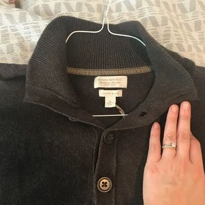 NWT brown banana republic pullover